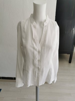 H&M Linen Blouse white