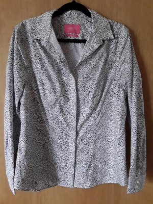 Charles Tyrwhitt Long Sleeve Blouse white-dark blue