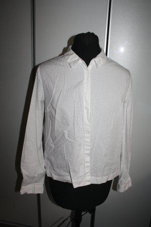 Bluse weiss-schwarz von OPUS, Gr. 38