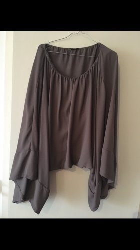 Conleys Black Ruche blouse antraciet