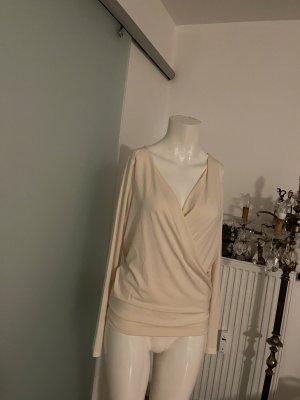 Bluse Wickel Look V-Ausschnitt Gr 36 38 S Vero Moda