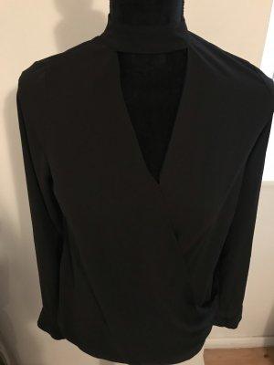 Primark Kopertowa bluzka czarny