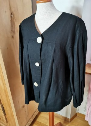 Zara Linen Blouse black