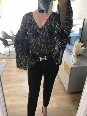 Bluse Zara Gr/36 schwarz