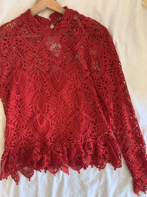 Bluse Zara Rot