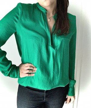 Bluse Zara S grün