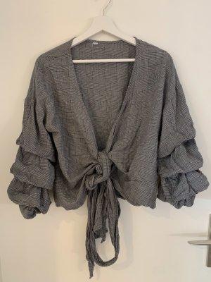 Foschini Kopertowa bluzka szary