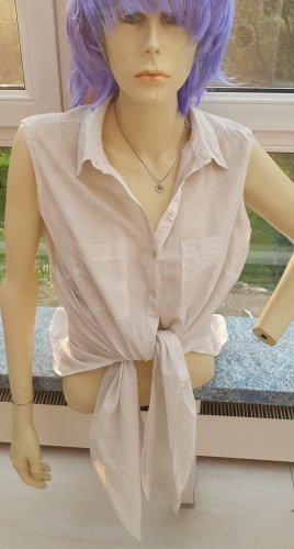 Bluse zum binden oder offen tragen