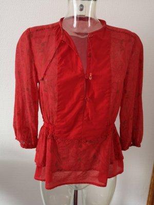 Bluse zum Knöpfen! leicht transparent!