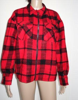 C&A Yessica Giacca a blusa nero-rosso