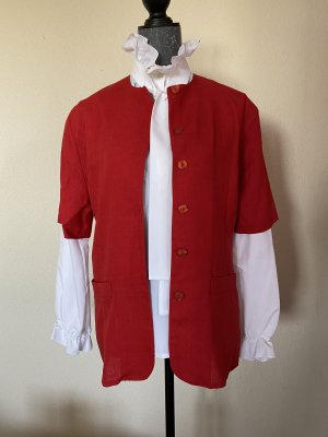 Blouse Jacket red
