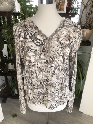 Colletto camicia bianco-grigio chiaro