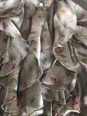 Polo Ralph Lauren Long Sleeve Blouse mauve silk