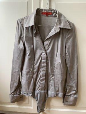 Hallhuber Donna Bodysuit Blouse grey