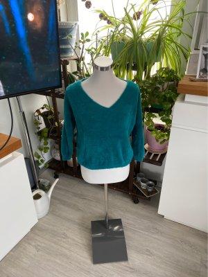 Empiècement de blouses vert forêt