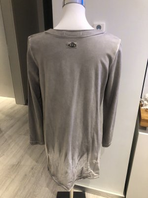 Spijkerblazer zwart-grijs