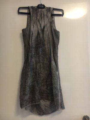 Risskio Tunique-blouse argenté-gris clair