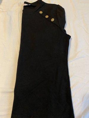 Mango Bluzka z krótkim rękawem czarny