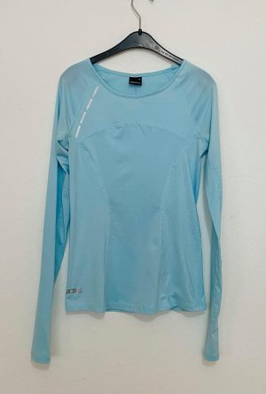 Gina Tricot Long Blouse baby blue-light blue