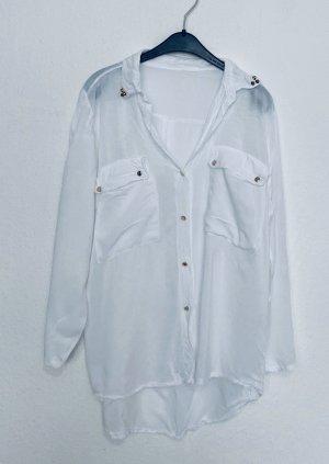 Vintage Camicia a maniche corte multicolore