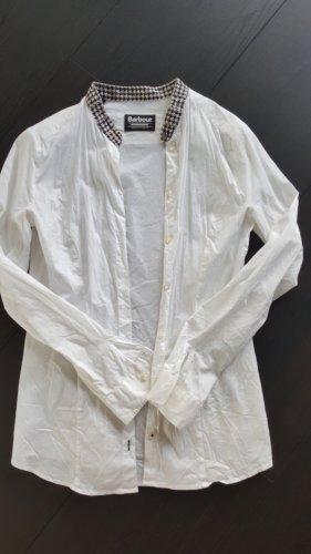 Barbour Shirt Blouse white-black