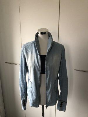Penn & Ink Blouse en jean bleu azur coton