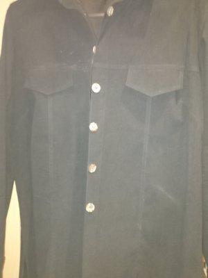 Marynarka koszulowa czarny
