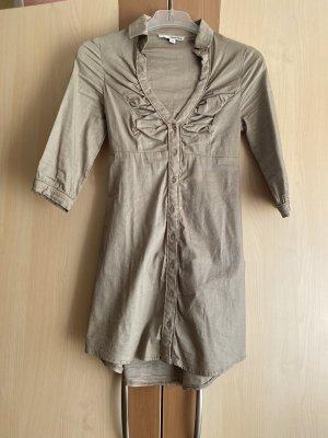 Tally Weijl Lange blouse grijs-bruin