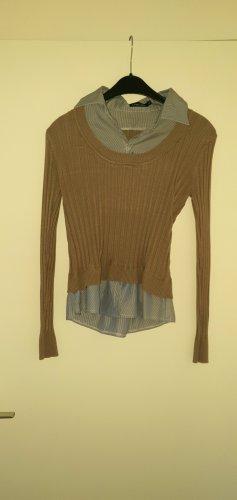 no name Davantino (per blusa) marrone chiaro-grigio ardesia
