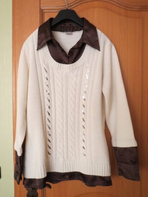 Blusen-Pullover 2- in 1, Gr.42/M
