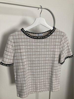 Blusen-Shirt mit Perlendetails ZARA