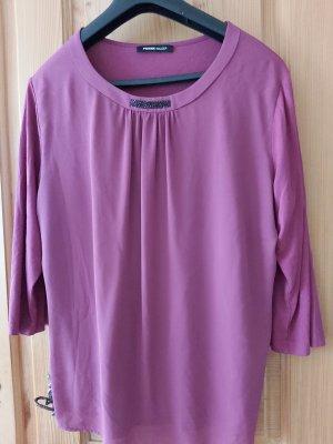 Blusen Shirt von Frank Walder, pink, mit kleinen Strasssteinchen