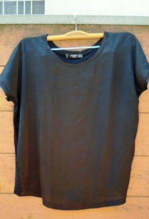 Blusen Shirt von Mango Gr. XS schwarz