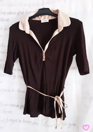 Orsay Blouse Top gold-colored-dark brown