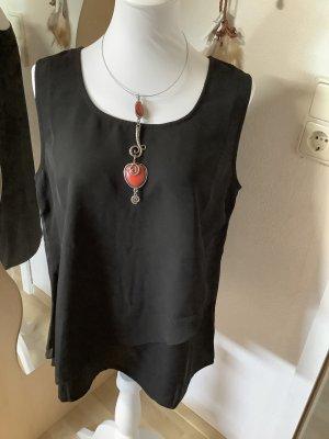Bon Prix Mouwloze blouse zwart