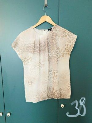 Jobis Short Sleeved Blouse natural white-brown