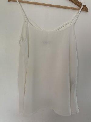 Blusen-Top mit Rücken Detail, Weiß von only