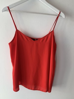 New Look Blouse Top red-brick red
