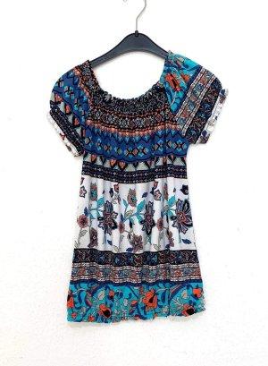 Vintage Bodysuit Blouse multicolored
