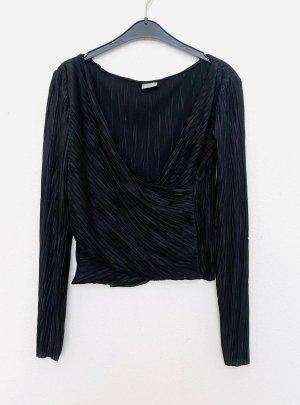 Zara Cuello de blusa multicolor