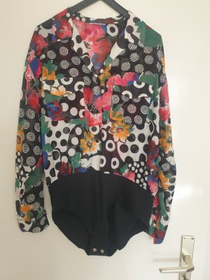 aus Italien Bodysuit Blouse multicolored