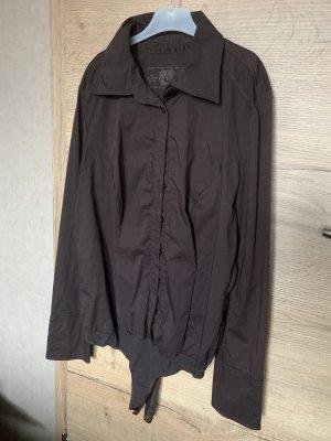 Edc Esprit Bodysuit Blouse dark brown