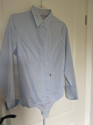 Seidensticker Bodysuit Blouse white-azure