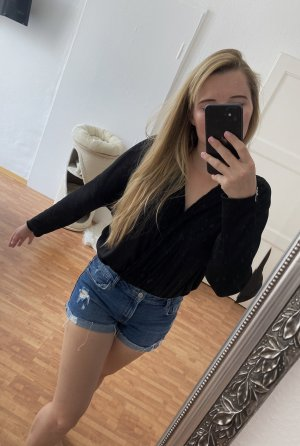 Zara Bodysuit Blouse black