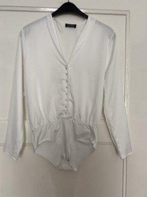 Zara Bodysuit Blouse white