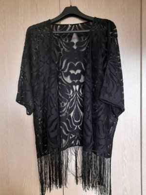 Amy Vermont Giacca a blusa nero Poliestere
