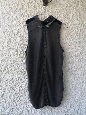 Blusenhemd mit transparentem Rückenteil