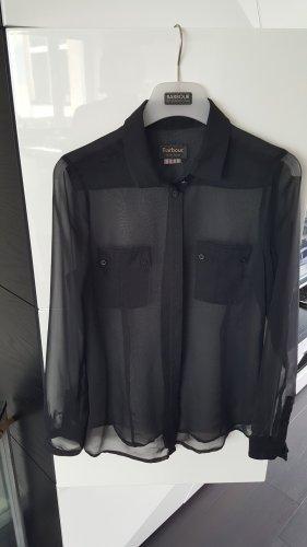 Barbour Transparent Blouse black chiffon
