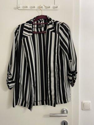 Primark Blouse Jacket white-black