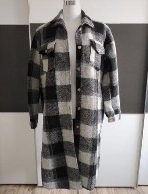NoName Veste chemisier noir-gris clair